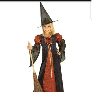 Other - Brand new w/tagsSparkle Witch Orange Child Costume